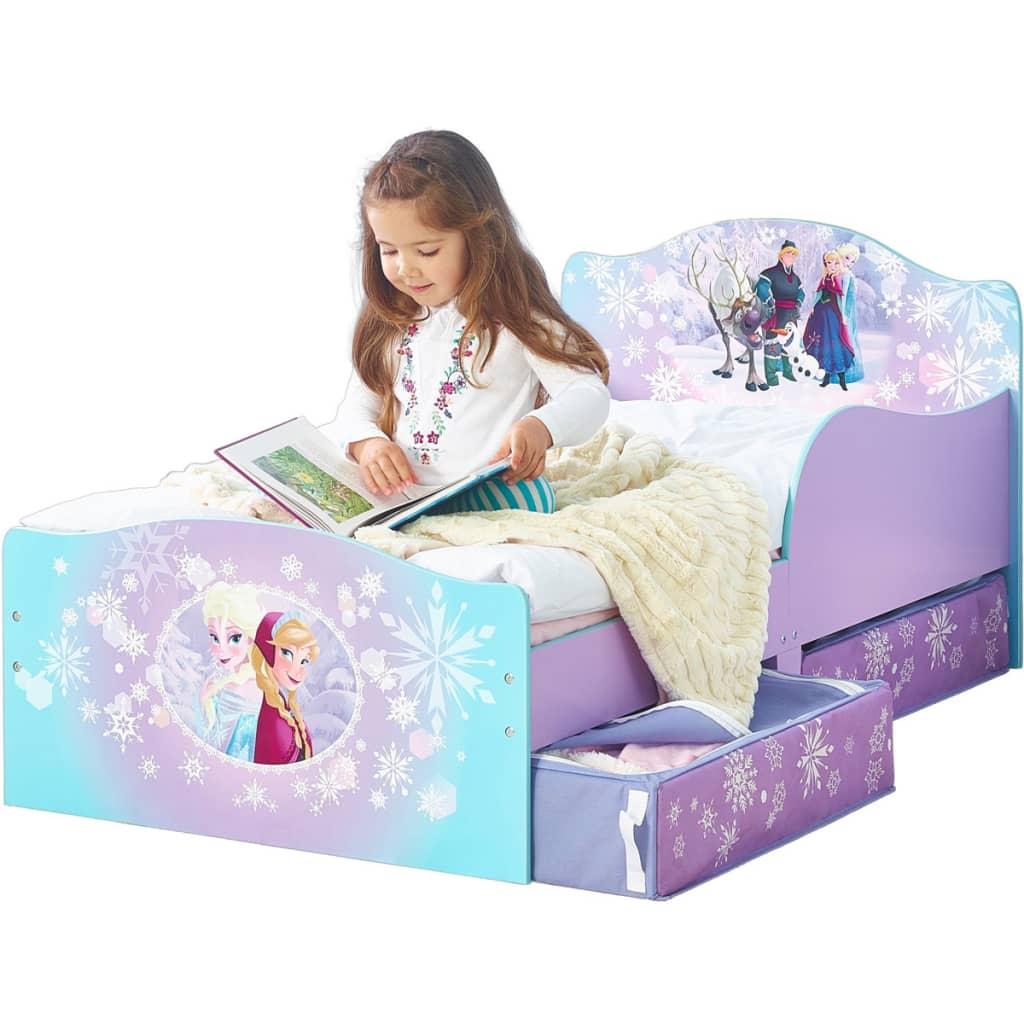 acheter disney lit pour enfants frozen avec 2 tiroirs 140 x 70 cm worl234023 pas cher. Black Bedroom Furniture Sets. Home Design Ideas