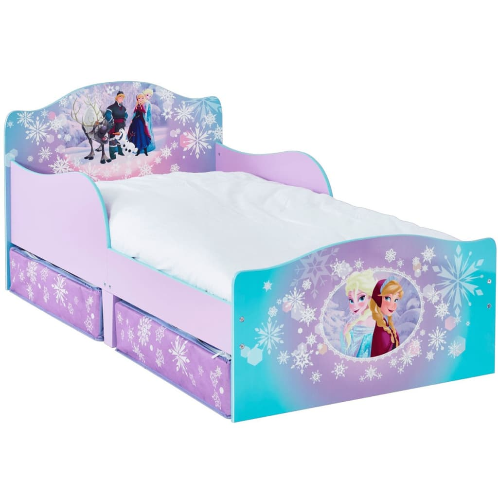 acheter disney lit pour enfants frozen avec 2 tiroirs 140. Black Bedroom Furniture Sets. Home Design Ideas