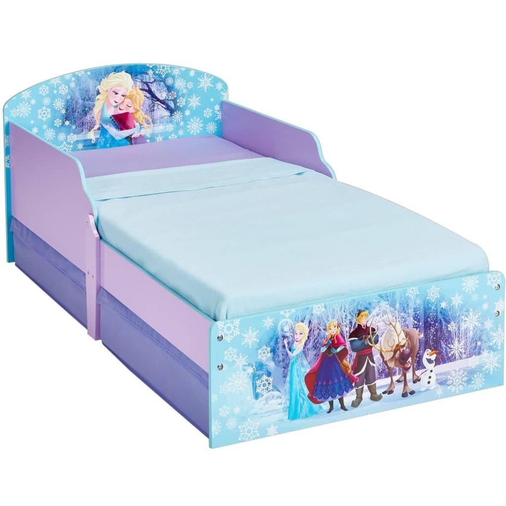 Disney Kinderbed met 2 lades Frozen 140x70 cm WORL234024
