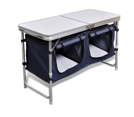 Campingmöbel Stauraum aus Aluminium zusammenklappbar[4/5]