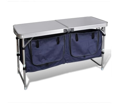 Campingmöbel Stauraum aus Aluminium zusammenklappbar[1/5]