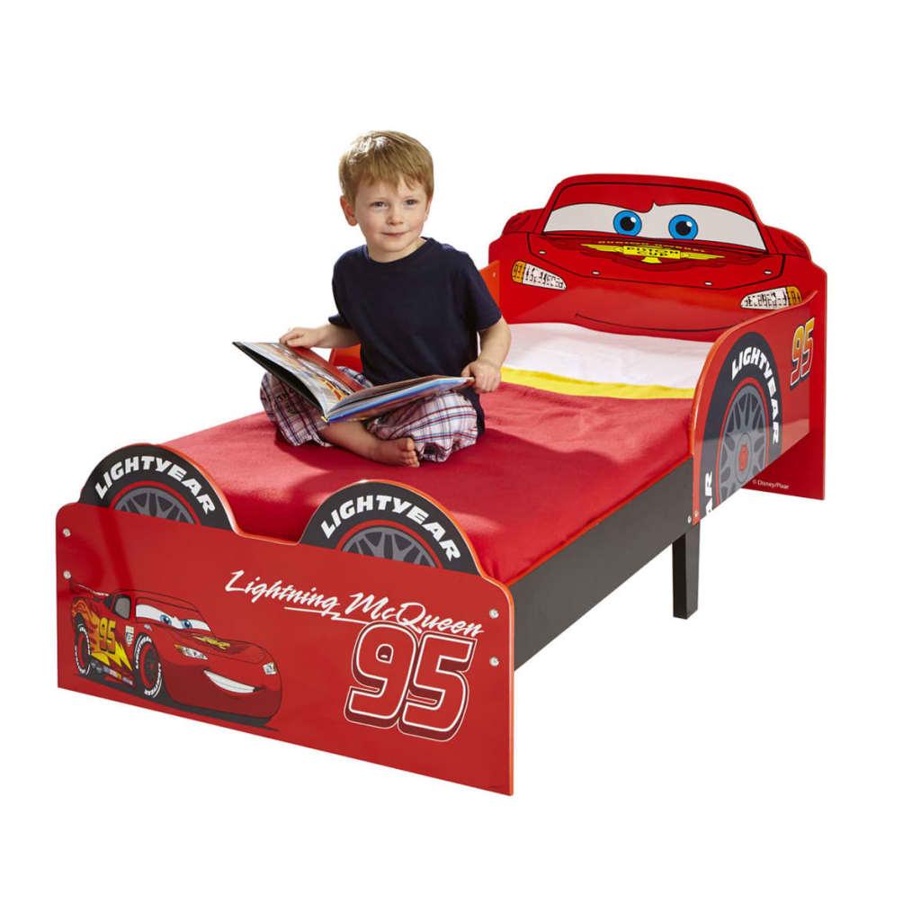 Disney cama para ni os rayo mcqueen 143x64x77 cm roja - Camas cars para ninos ...