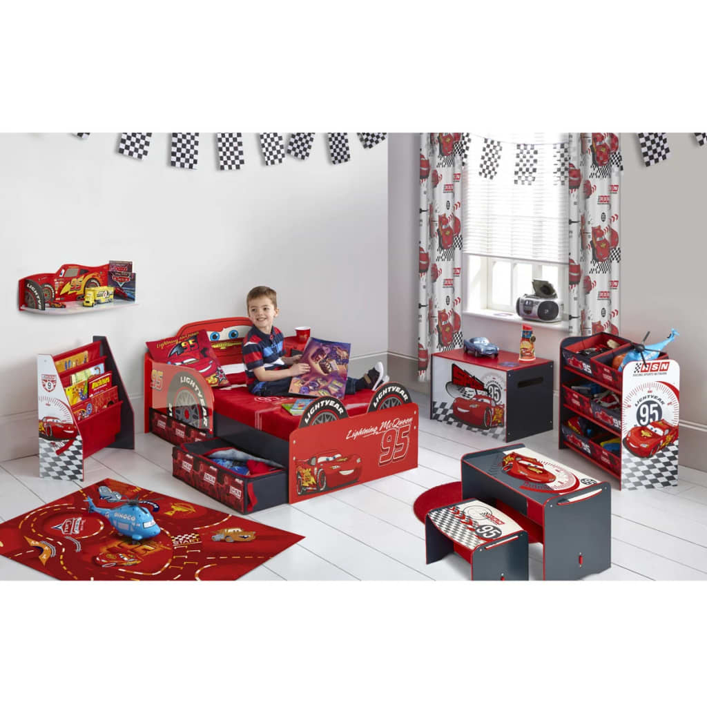 Disney Toddler Bed Cars Lightning McQueen 143x64x77 Cm Red