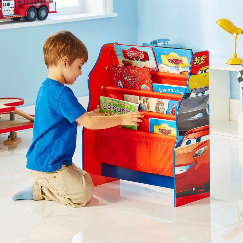 acheter disney biblioth que pour enfants cars orange. Black Bedroom Furniture Sets. Home Design Ideas