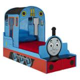 Tomek i przyjaciele Łóżko dla dziecka w formie lokomotywy 165x73x122