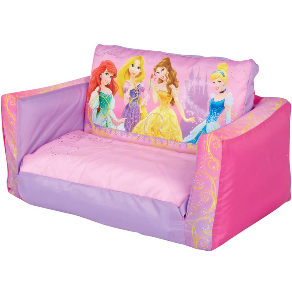 acheter disney canap d pliable princesse 105x68x26 cm. Black Bedroom Furniture Sets. Home Design Ideas