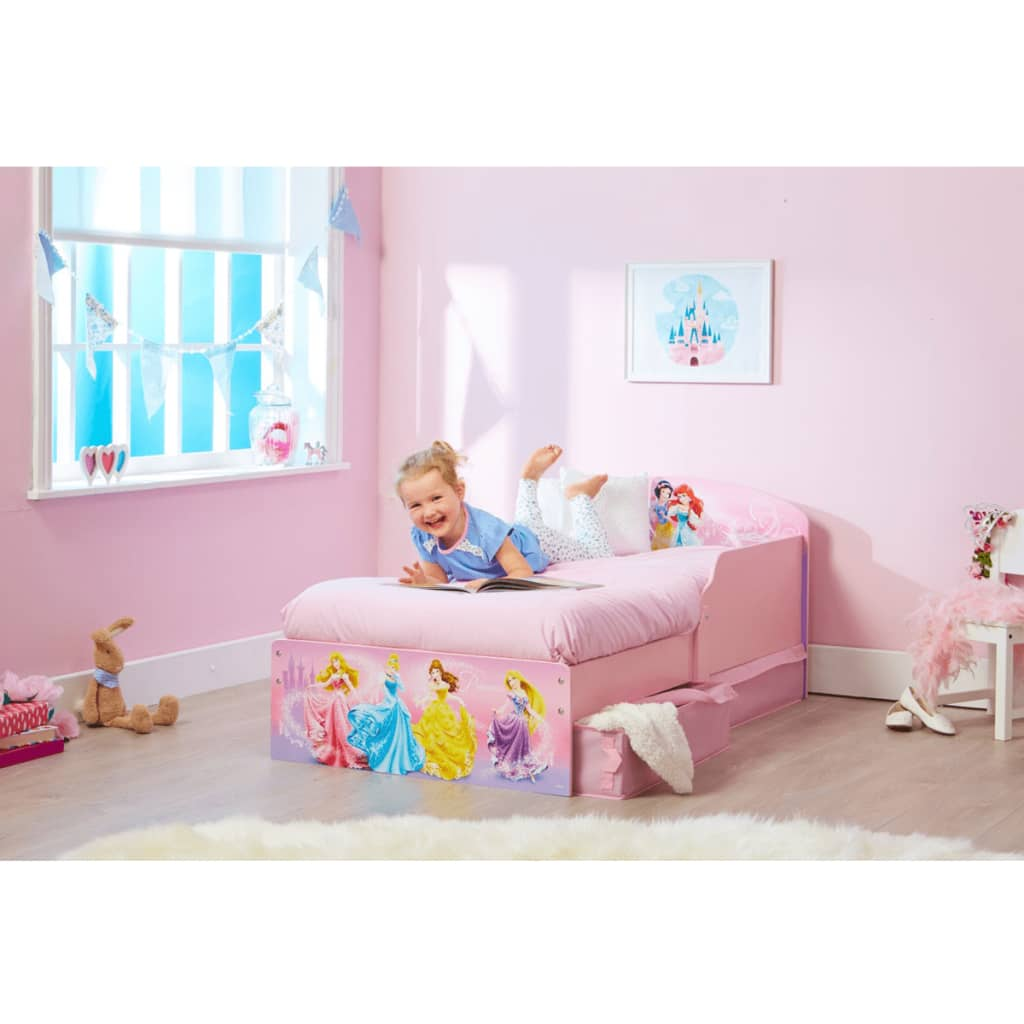 acheter disney lit d 39 enfant avec tiroirs princess. Black Bedroom Furniture Sets. Home Design Ideas