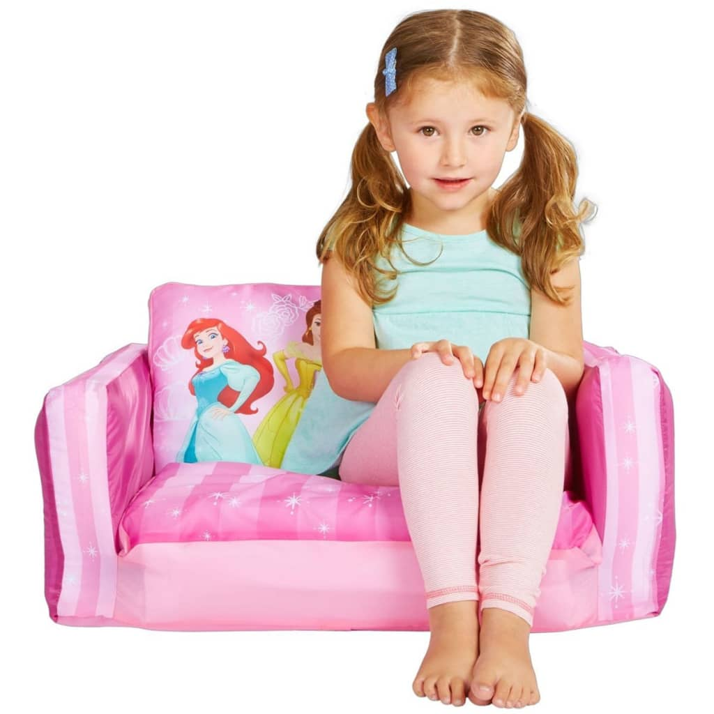 disney ausziehbares kindersofa schlafsofa prinzessin. Black Bedroom Furniture Sets. Home Design Ideas
