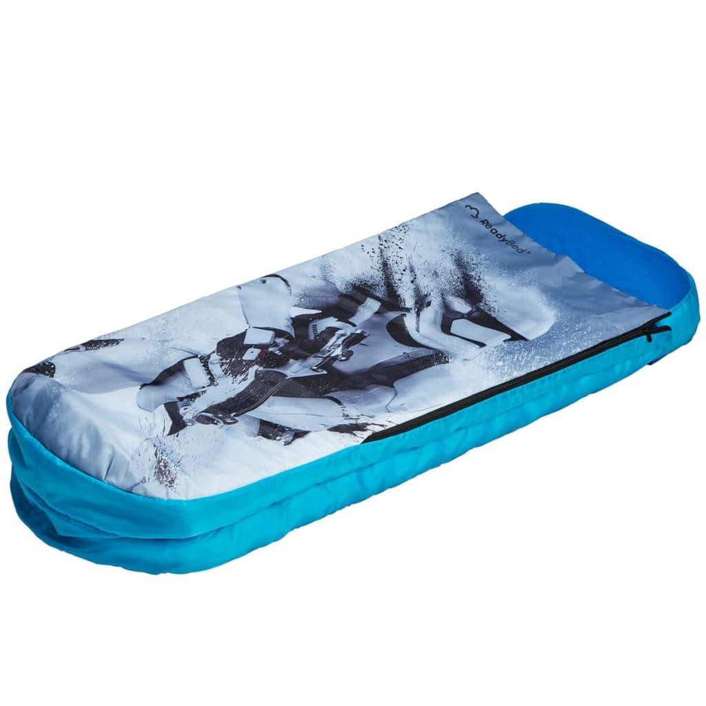 Disney-Junior-Ready-Bed-Star-Wars-Kids-Child-Airbed-Sleeping-Bag-Blue-WORL930013