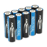 Ansmann Industrial Lithium Batteries AA 10 pcs 1502-0005