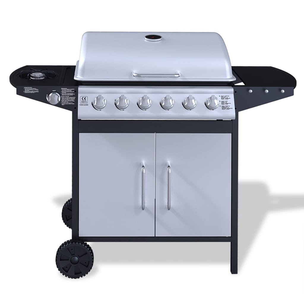 how to clean gas bbq burners