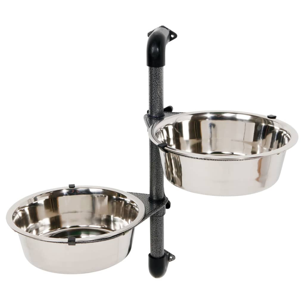 trixie wall mounted dog bowl set 2x2 8 l 25005. Black Bedroom Furniture Sets. Home Design Ideas