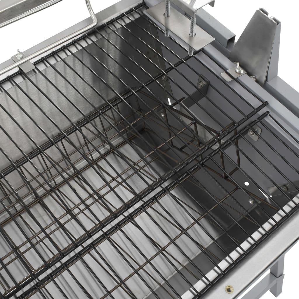 der bbq grill mit drehspie eisen und edelstahl online. Black Bedroom Furniture Sets. Home Design Ideas