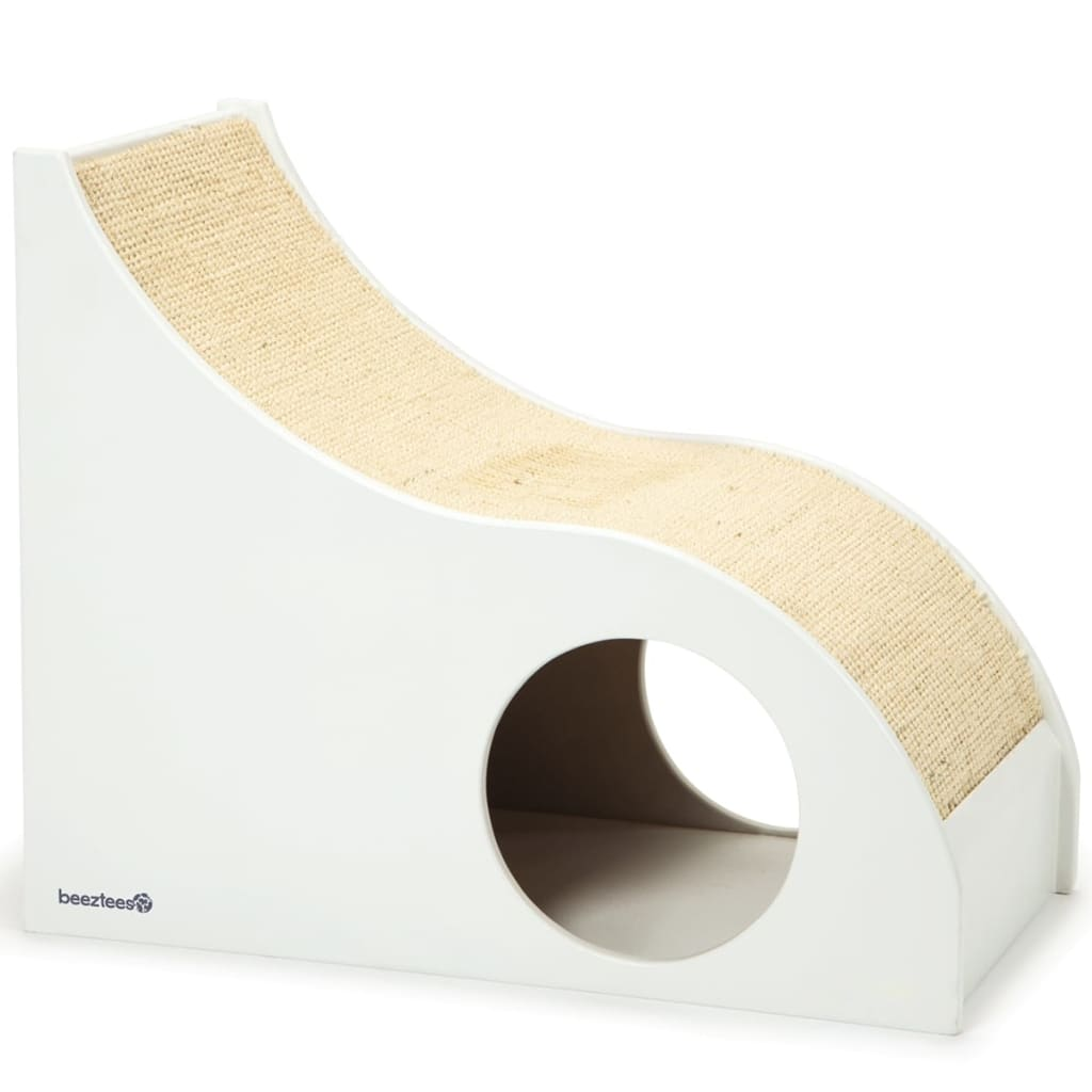 beeztees kratzbaum fendy wei 55x30x45 cm 408927 g nstig kaufen. Black Bedroom Furniture Sets. Home Design Ideas