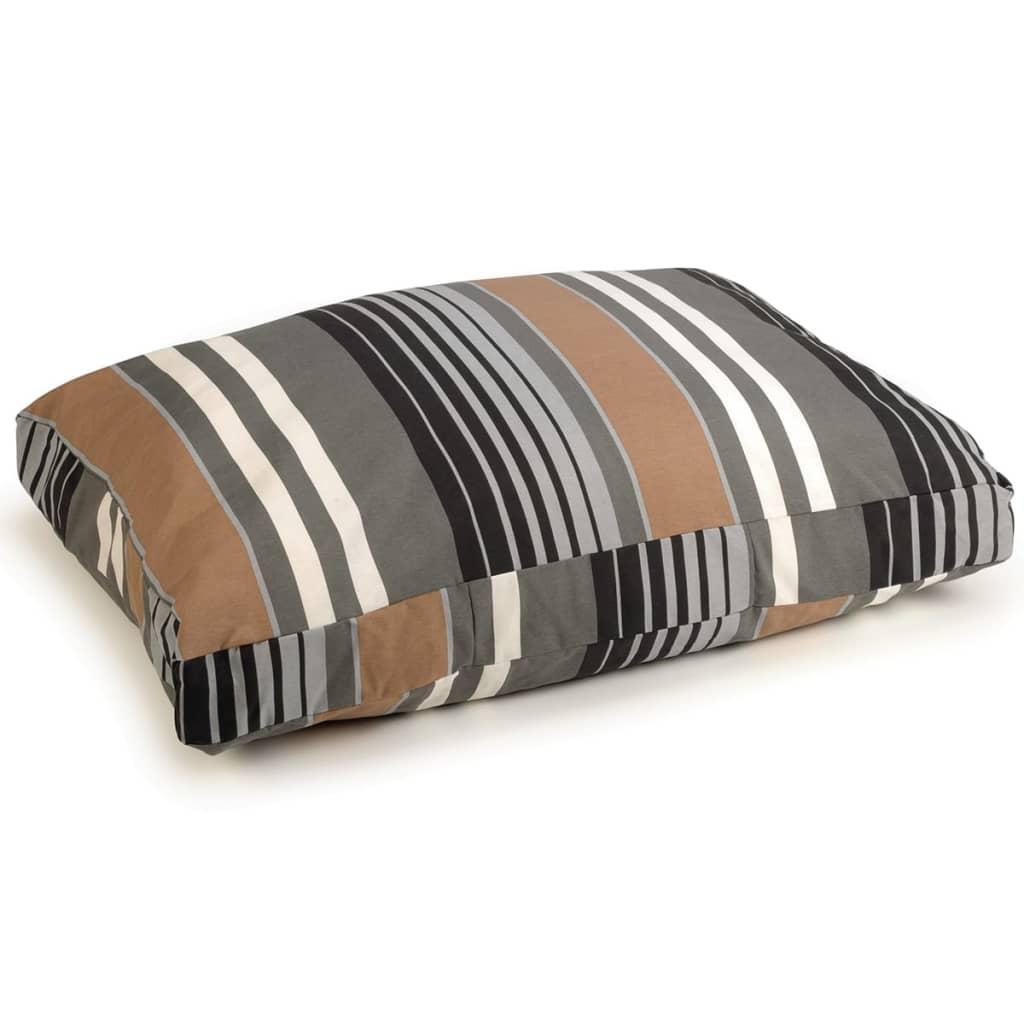 Afbeelding van Beeztees Hondenbed Lucky Stripe bruin 100 x 70 cm 706574