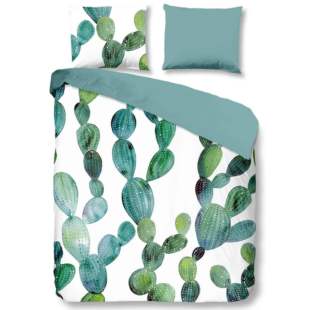 acheter good morning housse de couette 5827 p cactus 200x200 220 cm vert pas cher. Black Bedroom Furniture Sets. Home Design Ideas