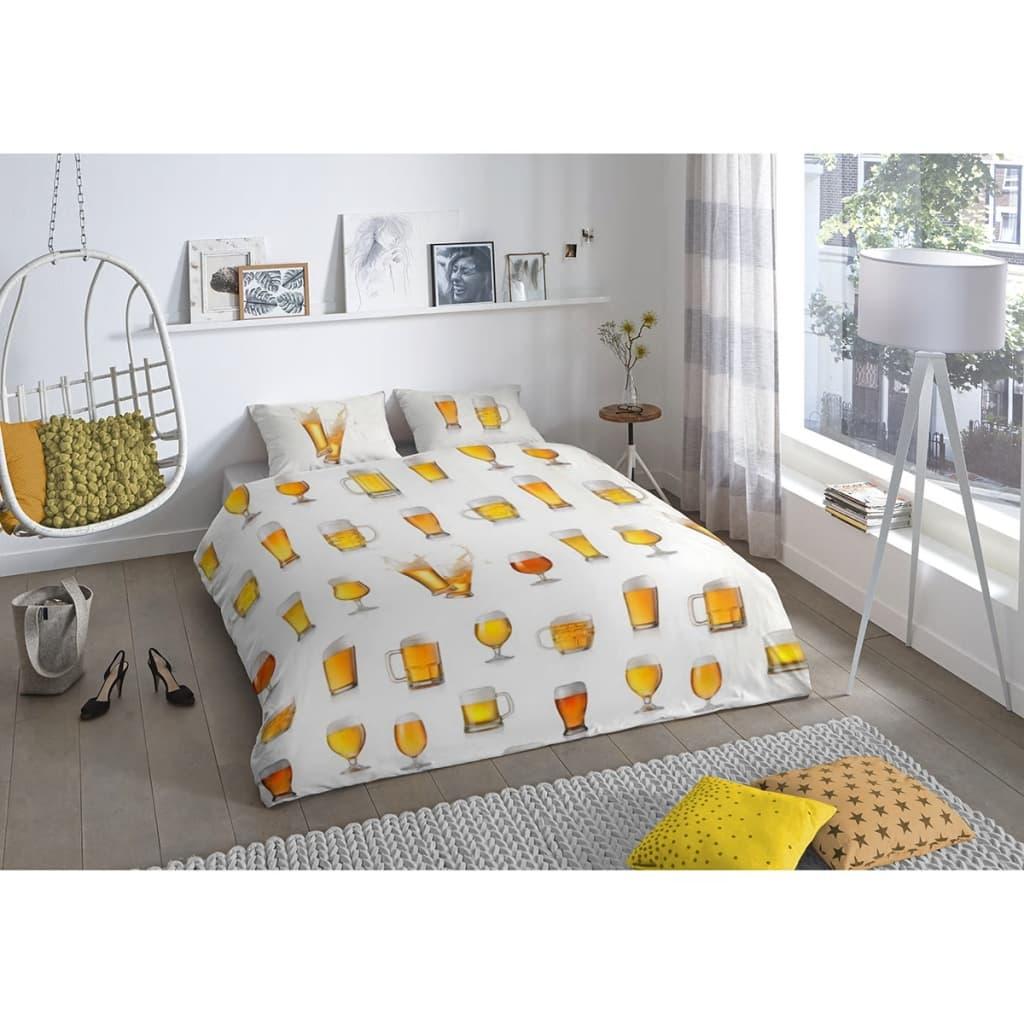 good morning bettw sche set 5808 a beerglass 240 x 200 220 cm wei g nstig kaufen. Black Bedroom Furniture Sets. Home Design Ideas