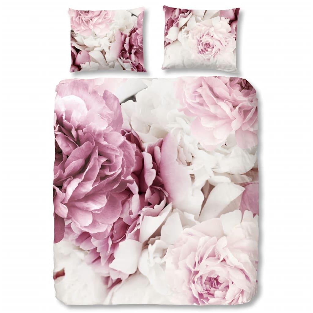 good morning bettw sche set 5028 p peonies 240 x 200 220 cm rosa g nstig kaufen. Black Bedroom Furniture Sets. Home Design Ideas