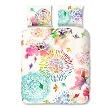 acheter hip housse de couette 5582 h elessa 200x200 220 cm multicolore pas cher. Black Bedroom Furniture Sets. Home Design Ideas