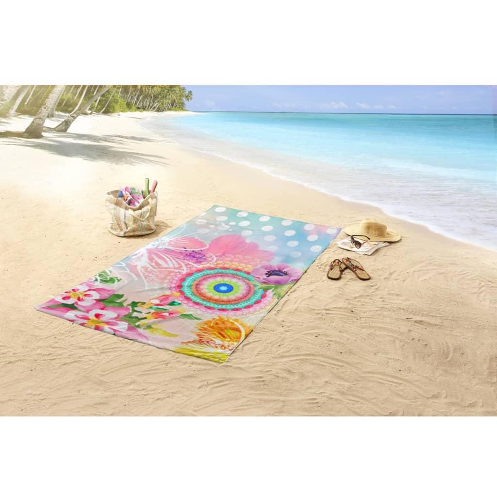 acheter hip serviette de plage 5072 h gimari 100x180 cm multicolore pas cher. Black Bedroom Furniture Sets. Home Design Ideas