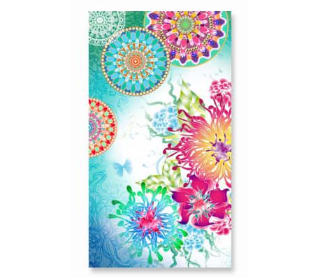 acheter hip serviette de plage 5074 h lazira 100x180 cm multicolore pas cher. Black Bedroom Furniture Sets. Home Design Ideas