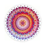 Hip Toalla de playa 5615-H CHANTAL 160 cm redonda multicolor