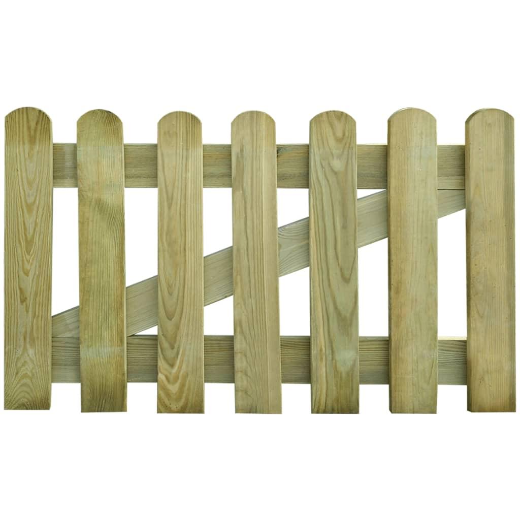 vidaXL Kerítés kapu 100 x 60 cm