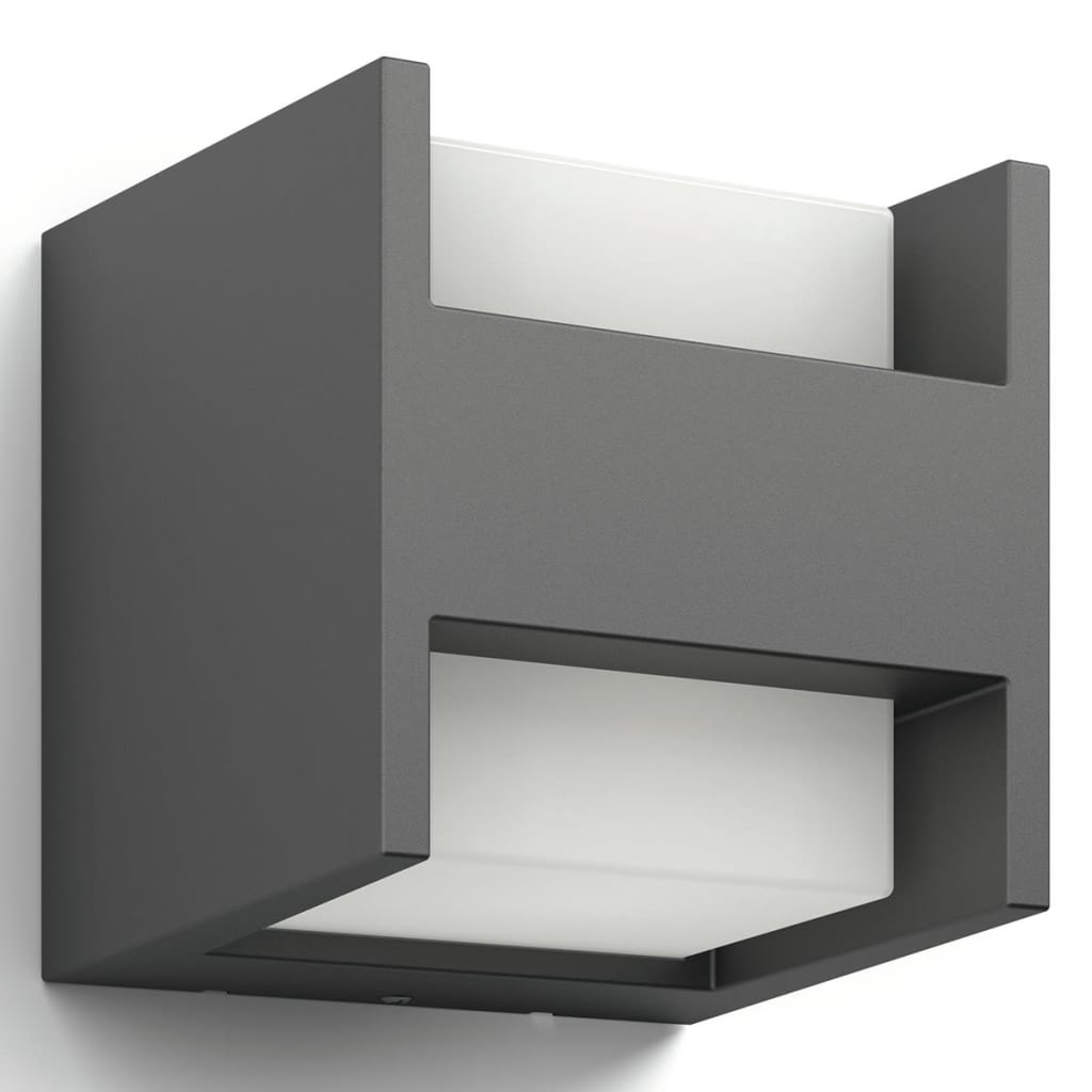 acheter philips applique ext rieur carr arbour ip44 led h13 c pas cher. Black Bedroom Furniture Sets. Home Design Ideas