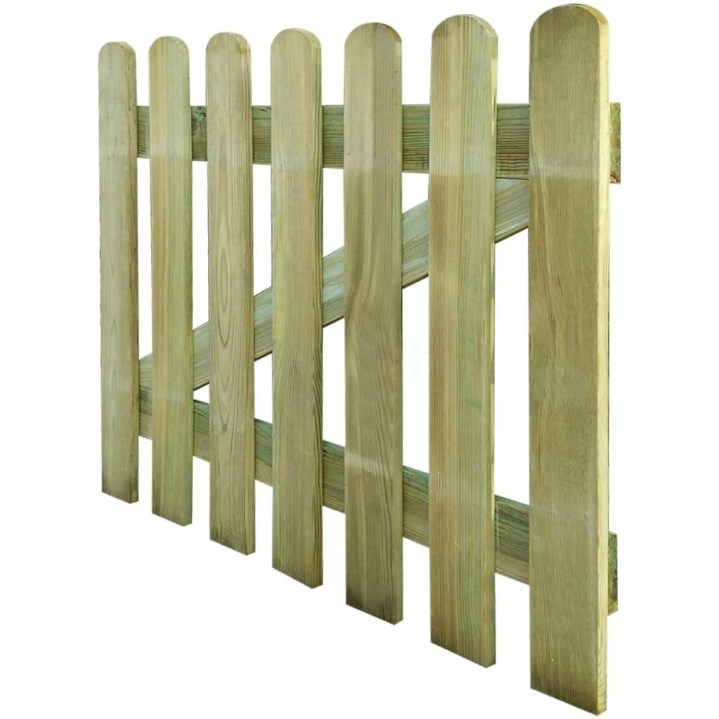Articoli per cancello in legno per giardino 100 x 80 cm for Articoli x giardino