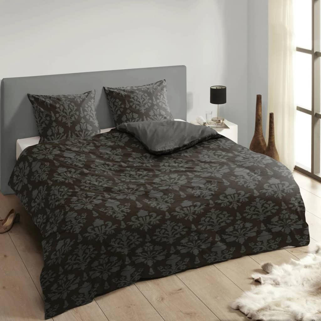 descanso bettw sche set 9300 k anthrazit 135 200 cm g nstig kaufen. Black Bedroom Furniture Sets. Home Design Ideas