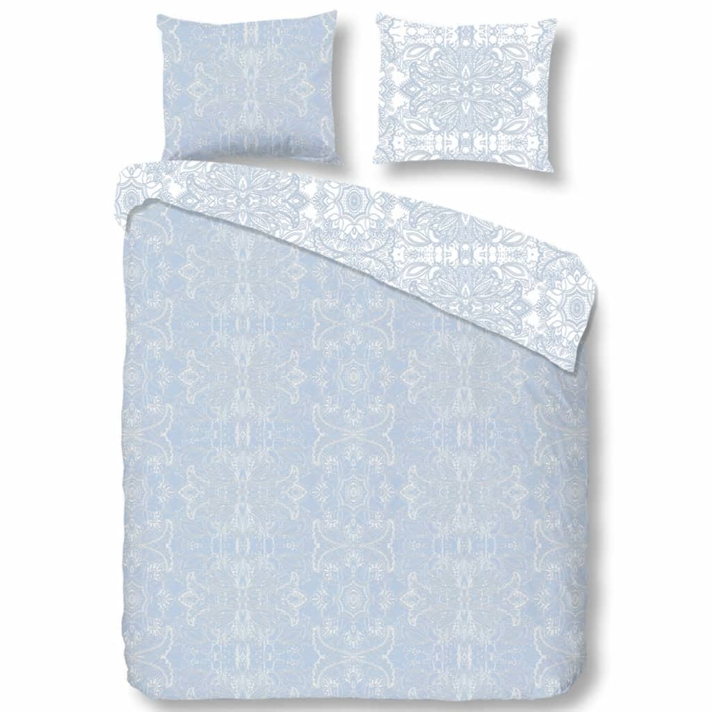 Descanso Dekbedovertrek 9308-K 140x200/220 cm blauw