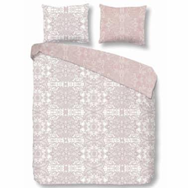 acheter descanso housse de couette 9308 k 240x200 220 cm rose pas cher. Black Bedroom Furniture Sets. Home Design Ideas