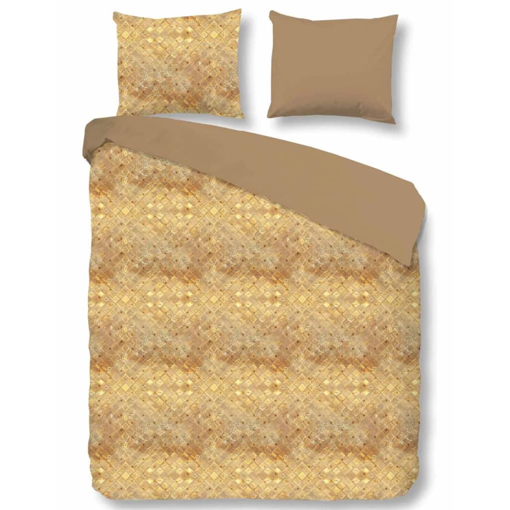 acheter descanso housse de couette 9312 k 200x200 220 cm sable pas cher. Black Bedroom Furniture Sets. Home Design Ideas