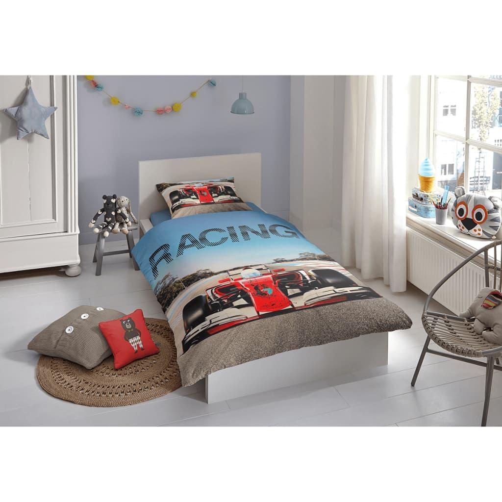Acheter good morning housse de couette 5732 p racing - Housse de couette multicolore ...