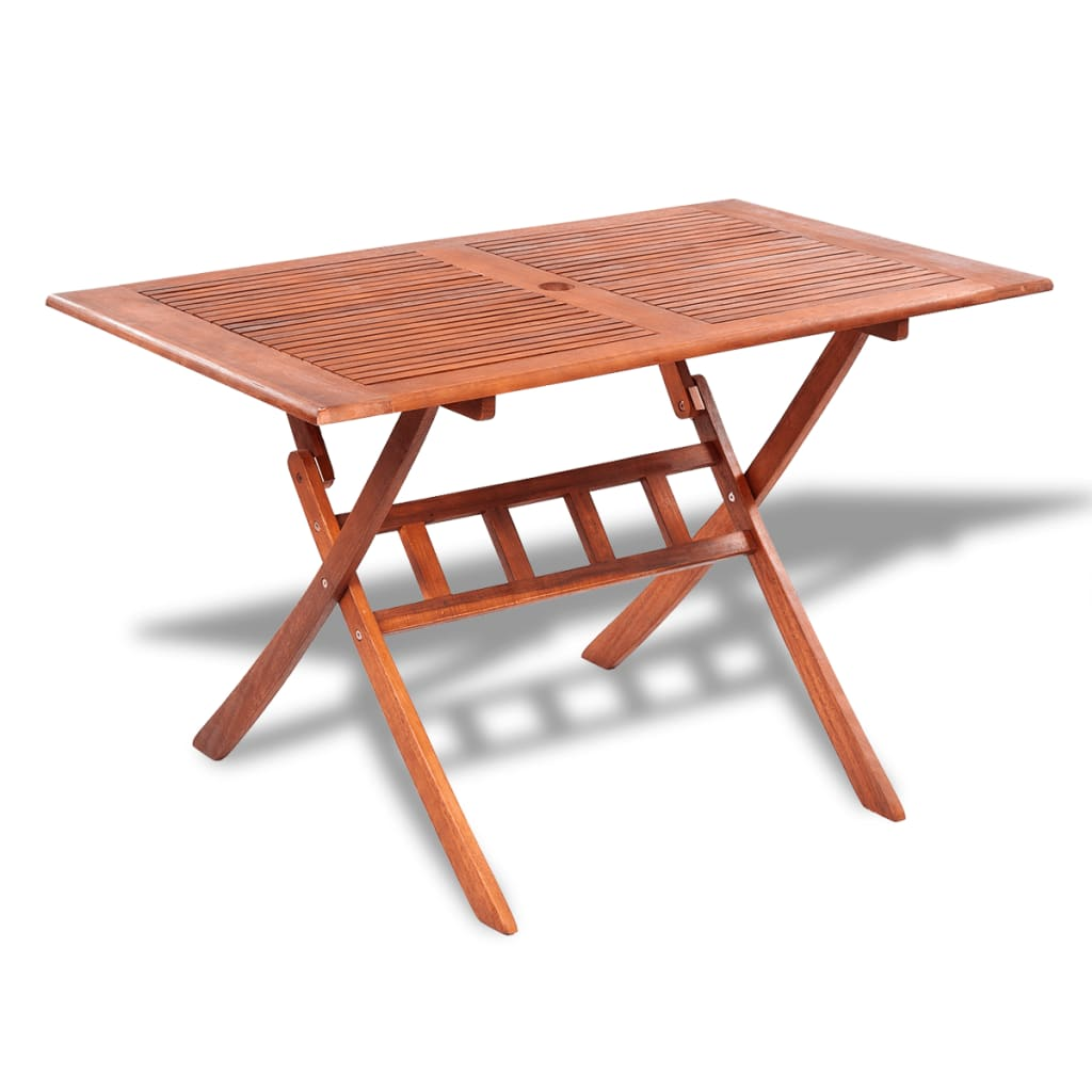 Rectangular Wooden Outdoor Dining Table