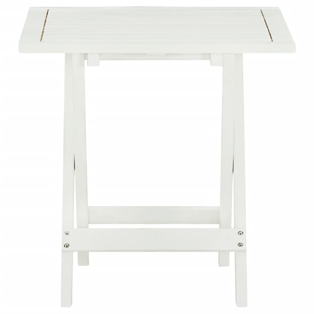 outdoor coffee side table acacia wood white