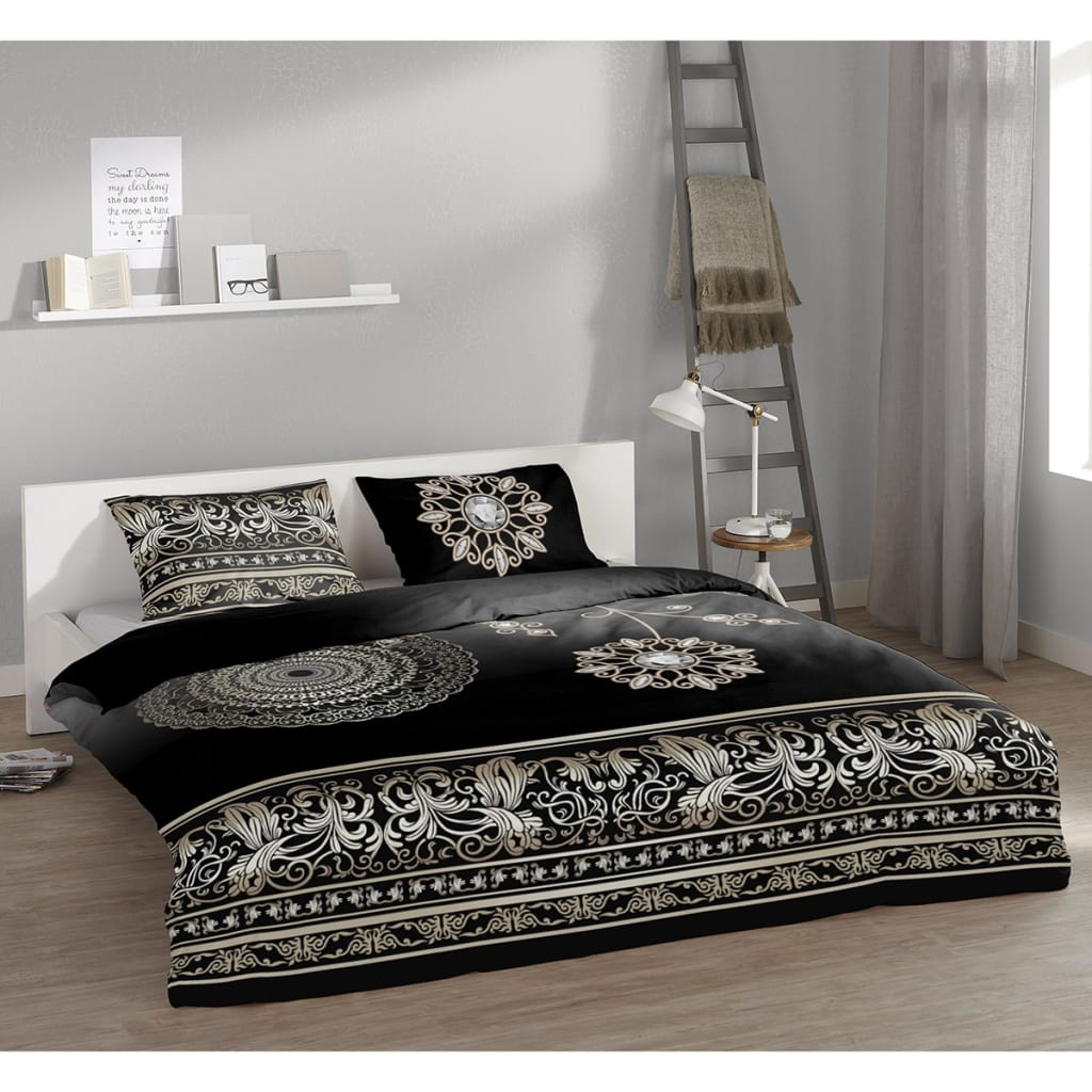 acheter pure housse de couette 5259 m asiya 135x200 cm. Black Bedroom Furniture Sets. Home Design Ideas