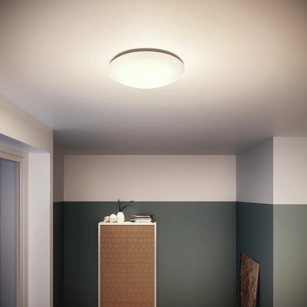 Acheter philips plafonnier led myliving suede blanc 4 x 3 for Acheter maison suede