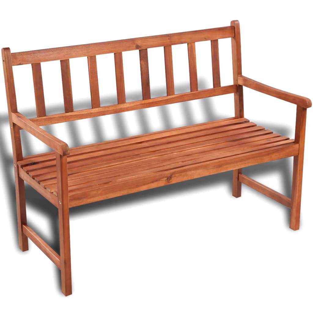 Vidaxl classic wooden garden bench Oak bench