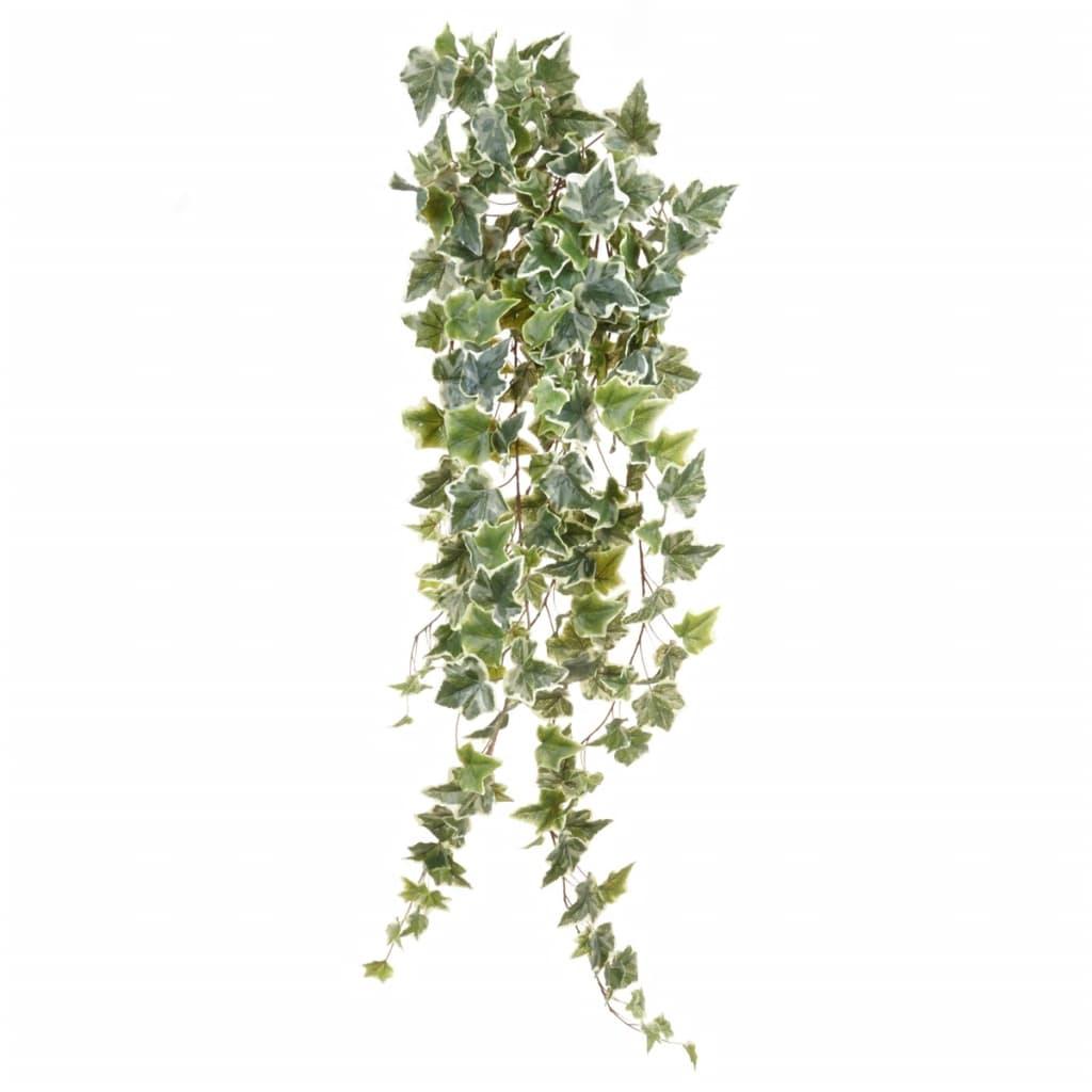 Afbeelding van Emerald Kunstplant klimop hangend tweekleurig groen 100 cm 11.960