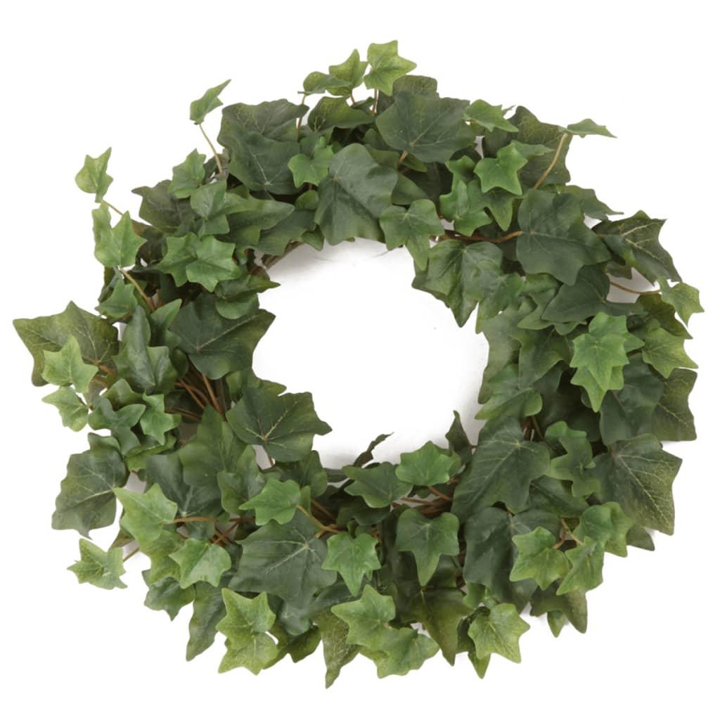 Afbeelding van Emerald Kunstplant klimop krans groen 35 cm 415382