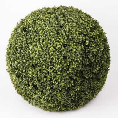 acheter emerald boule de buis artificiel vert 65 cm 415915. Black Bedroom Furniture Sets. Home Design Ideas