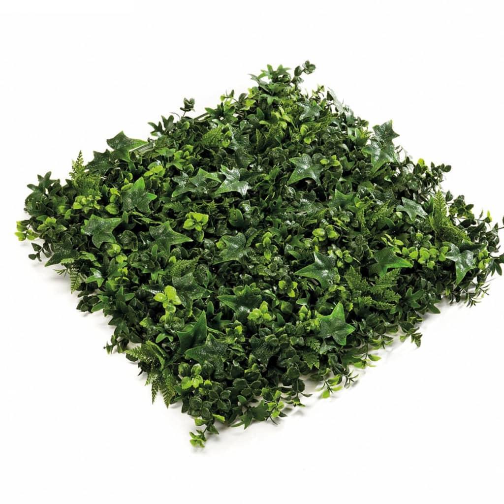Afbeelding van Emerald Kunstplant gemengde mat groen 50x50 cm 4 st 417983