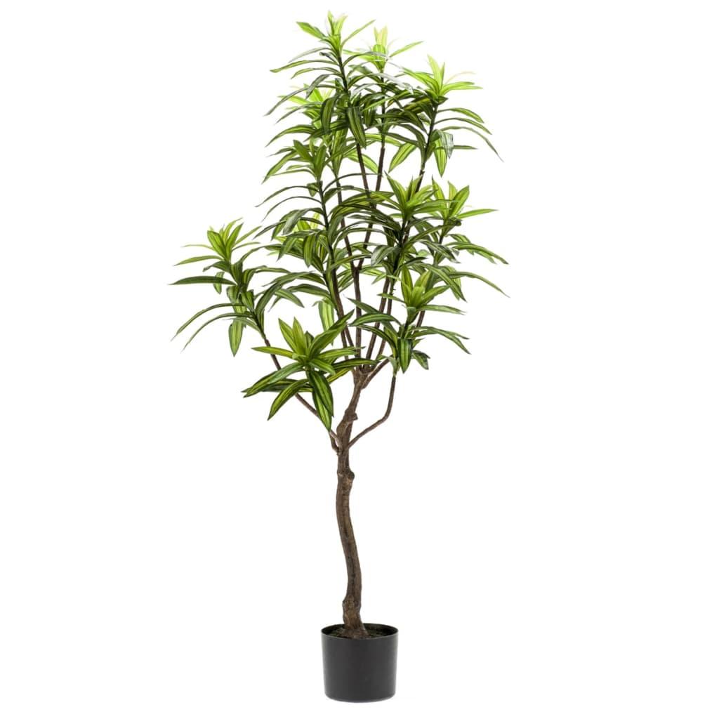 Acheter emerald arbre dracaena artificiel vert 130 cm for Plante artificielle solde