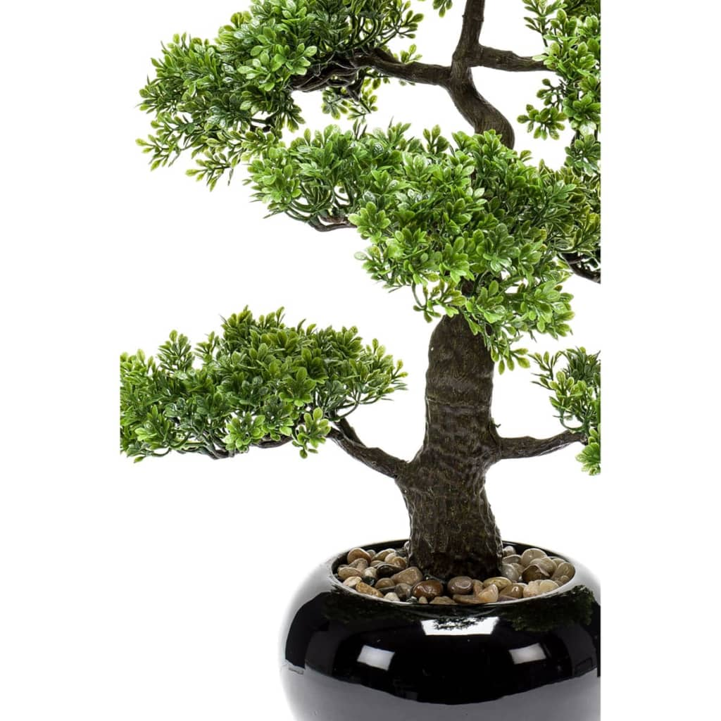 emerald artificial ficus mini bonsai green 47 cm 420006. Black Bedroom Furniture Sets. Home Design Ideas