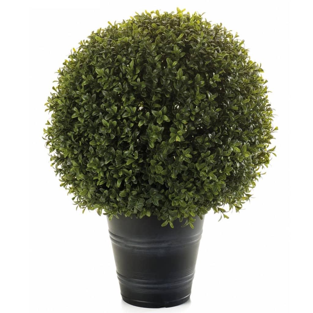 Afbeelding van Emerald Kunstplant buxusbollen 53 cm 2 st 417630