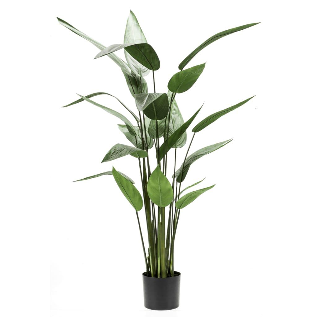 Afbeelding van Emerald Kunstplant heliconia plant groen 125 cm 419837