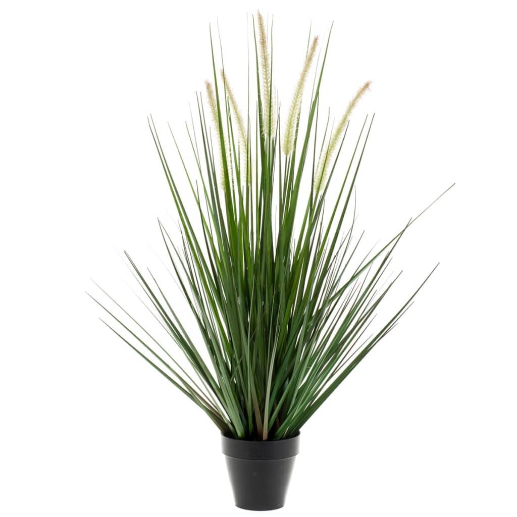 Acheter emerald herbe artificielle alopecurus vert 120 cm for Plante artificielle solde