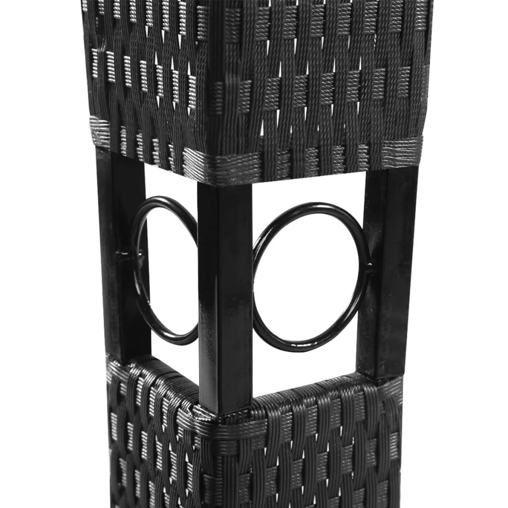 vidaxl altana ogrodowa z ciemnoszarym zadaszeniem. Black Bedroom Furniture Sets. Home Design Ideas