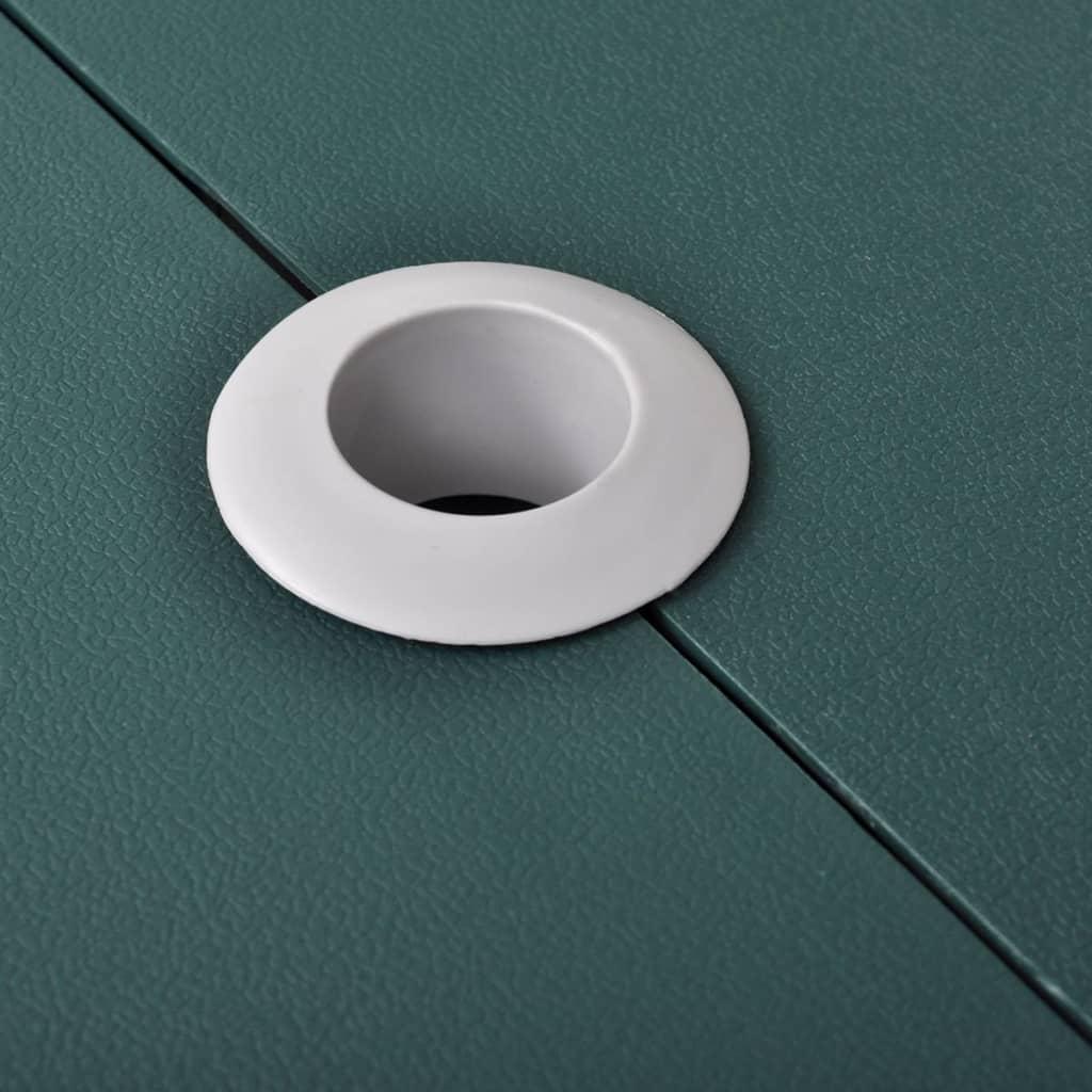 la boutique en ligne table de pique nique verte pliante 4 si ges l g re en aluminium. Black Bedroom Furniture Sets. Home Design Ideas